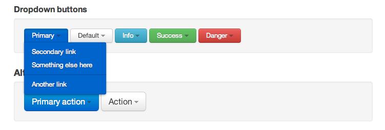 Twitter Bootstrap Dropdown Button - Damien Antipa
